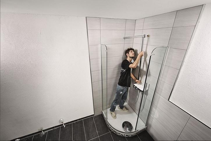 Montáž sprchové vany