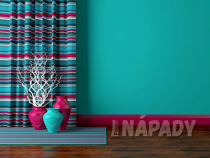barevné stěny