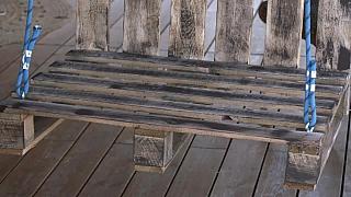 Výroba houpačky z obyčejných palet