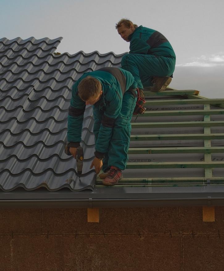 Odvětraná střecha