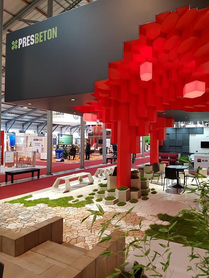 Expozice PRESBETON získala ocenění TOP EXPO 2016