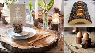 Kus dřeva v bytě: Špalek, polínko nebo větev, jak chcete