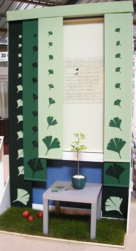 Okna v zelené
