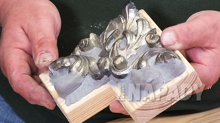 Jak vyrobit plastickou ozdobu: nejprve vytvoříme tvar předlohy