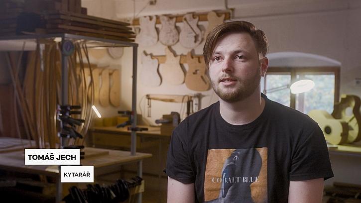 Tomáš Jech - Kytarář - mluví o své práci