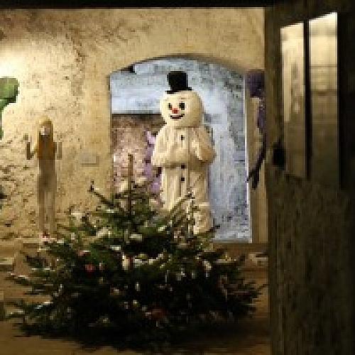 Výstava vánočních ozdob