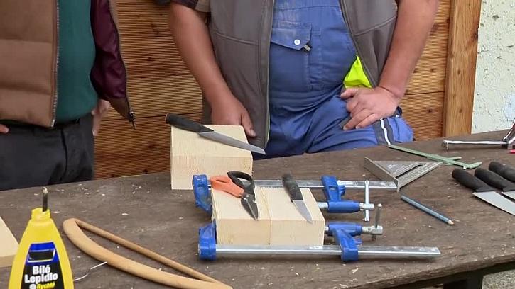 Jak si vyrobit stojánek na nože