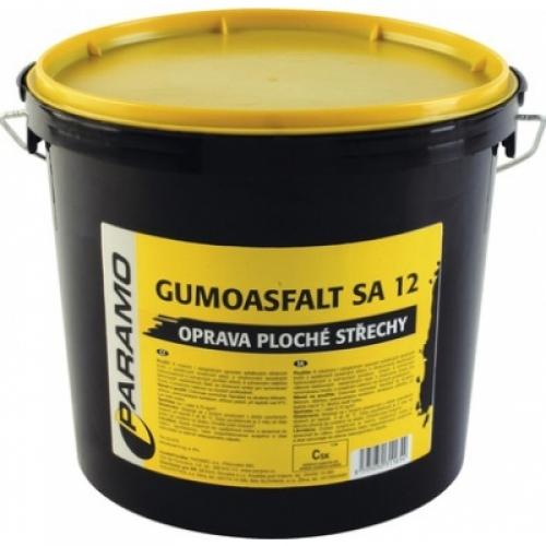 Gumoasfalt SA 12 asfaltový nátěr na opravu střech černý, 5 kg