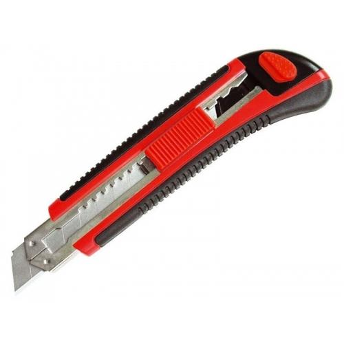EXTOL PREMIUM nůž ulamovací s kovovou výztuhou, 18mm 80041
