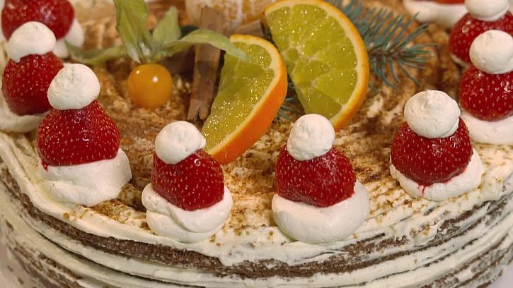 Nazdobení dortu