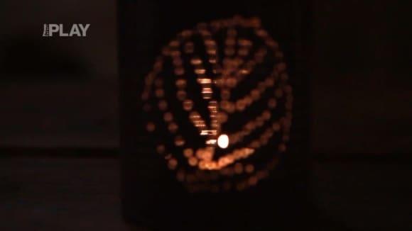Jak si vyrobit svícínek z plechovky od kompotu