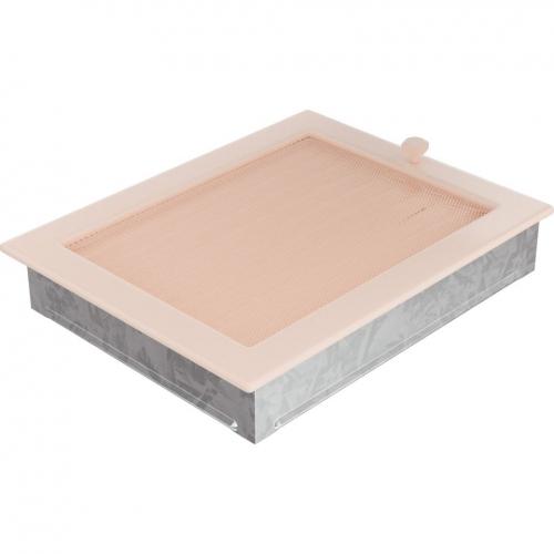 Krbová mřížka 22x30 BASIC krémová s žaluzií