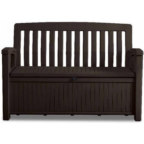 KETER PATIO BENCH úložná lavice 227L, hnědá 17202690