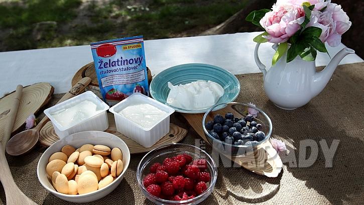 Letní tvarohová bábovka: ingredience