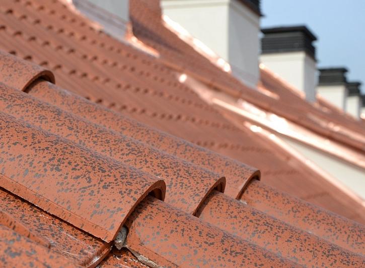Nová střecha na Pražském hradě