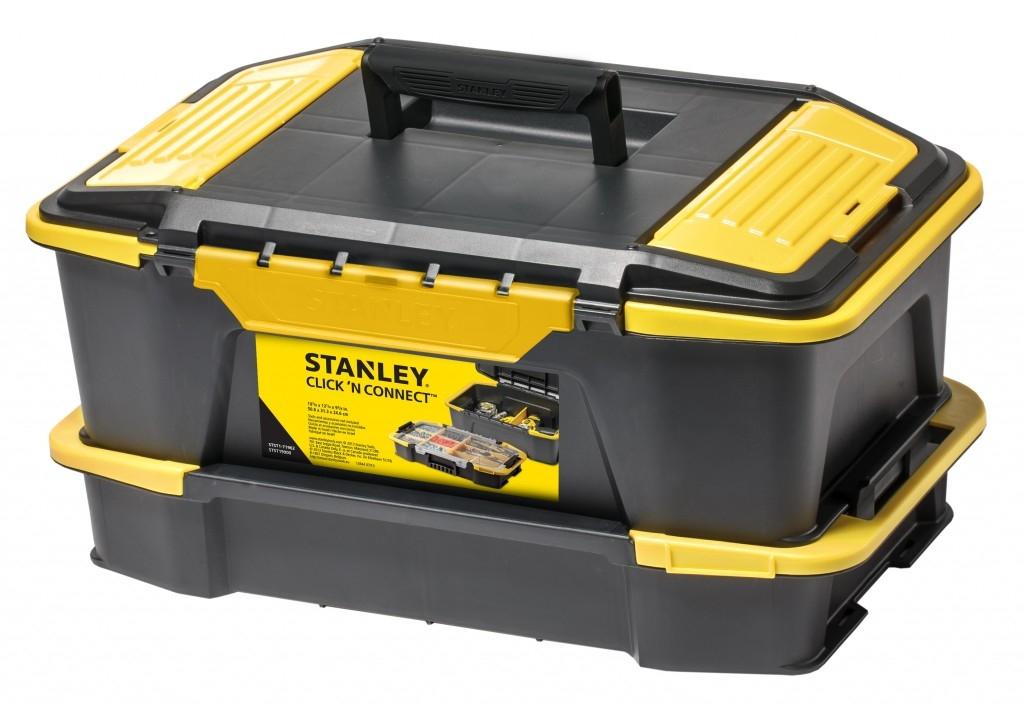 Boxy na nářadí a organizéry Stanley pro kutily i kutilky