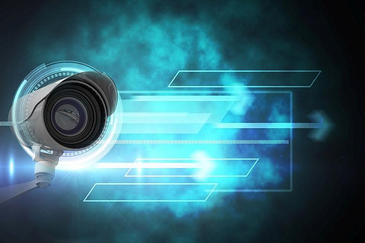 Kamera napojená na chytrý systém