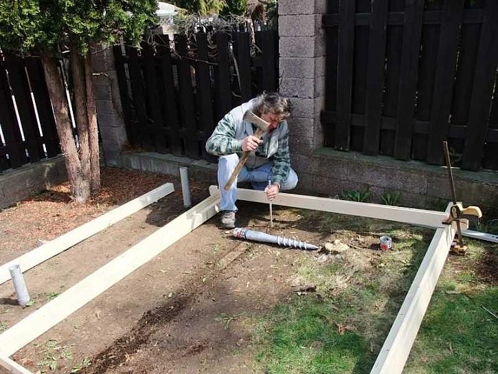 Práce se zemními vruty