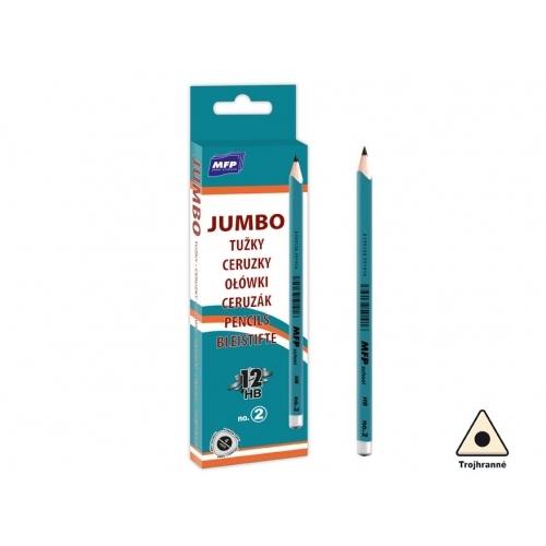 MFP tužka M č.2 JUMBO triangular