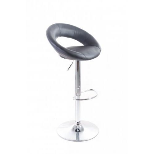 G21 Barová židle Orbita koženková černá