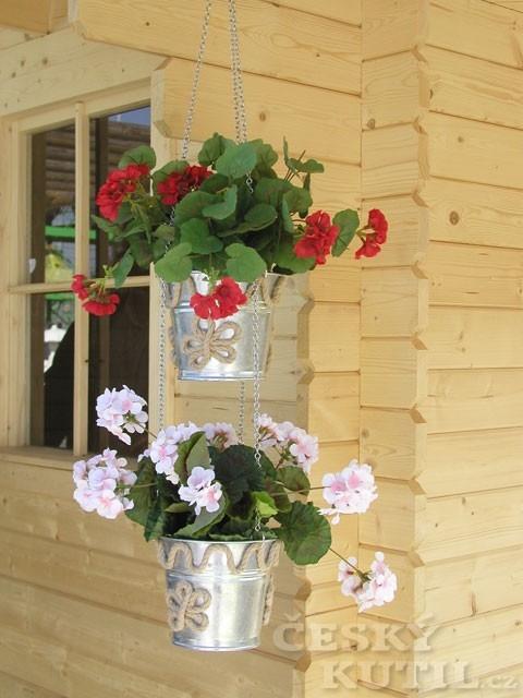 Budete potřebovat na závěsný obal na květináče