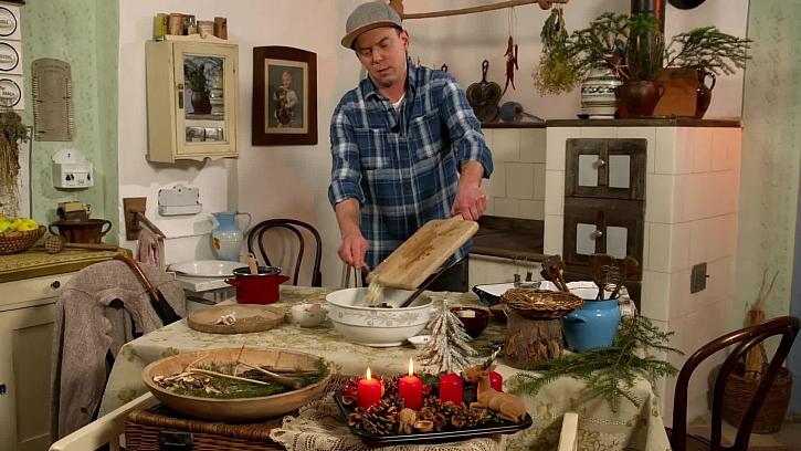 Vaření ve staré kuchyni