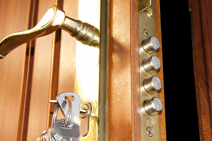 Jste-li důslední při zamykání bytu, zloději se k vám nedostanou (Zdroj: Depositphotos)