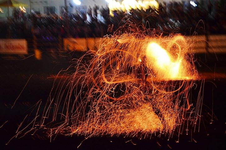 Velkolepá ohňová, světelná a akrobatická show již tuto sobotu na Šiklově mlýně