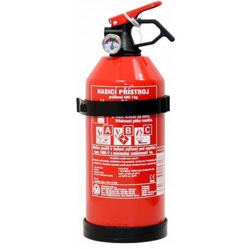 Hasicí přístroj 1 kg práškový ABC s manometrem 01531