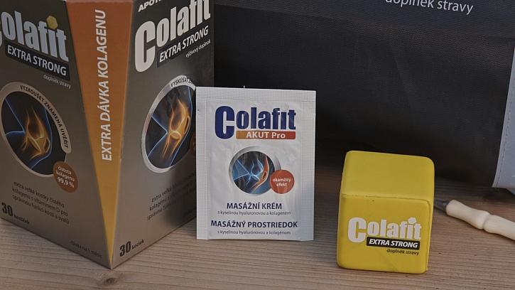 Soutěž z Receptáře: 5x dárkový balíček doplňků stravy Colafit