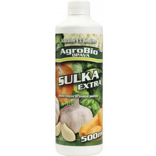 AgroBio SULKA EXTRA Minerální hnojivo 500 ml 005214