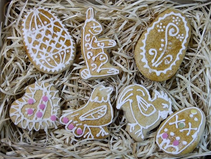 Velikonoční perníčky na poslední chvíli