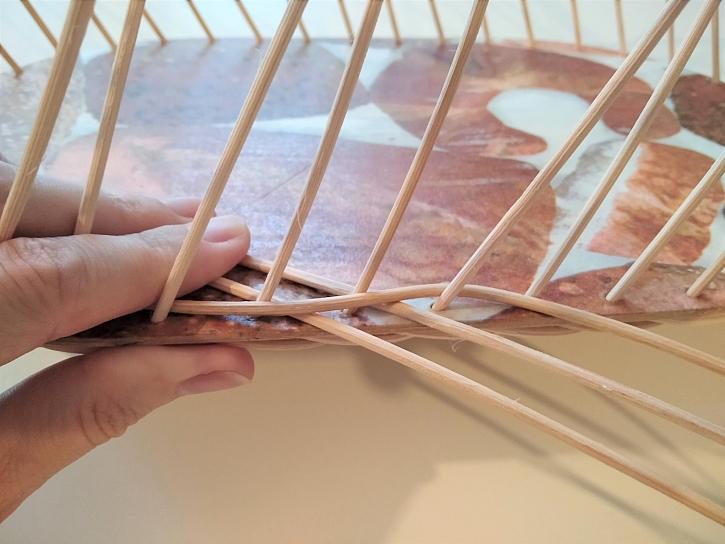 Pletení opletkem třemi