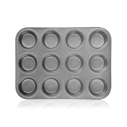 BANQUET GRANITE Forma na 12 muffinů s nepřilnavým povrchem 35 x 26,5 x 3 cm