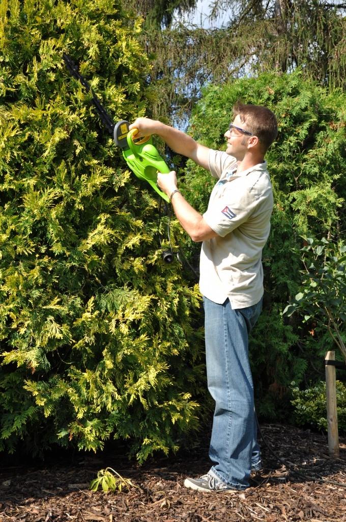 Krásná a udržovaná jarní zahrada? Žádný problém. Zkuste to se zahradní technikou FIELDMANN