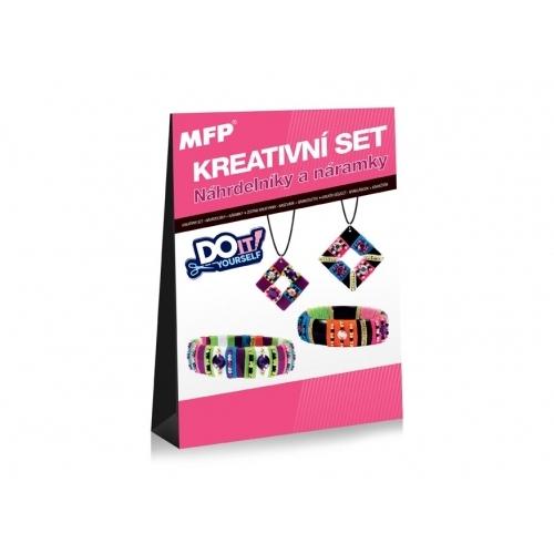 MFP kreativní set - Náhrdelníky a náramky - 2 + 2 ks