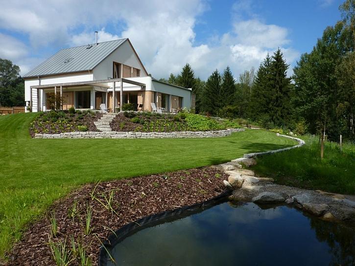 První energeticky plusový dům v Evropě