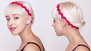 Jak si uháčkovat efektní módní doplněk: Půvabná čelenka do vlasů