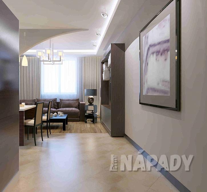 Vynilová podlaha ve vstupu do pokoje