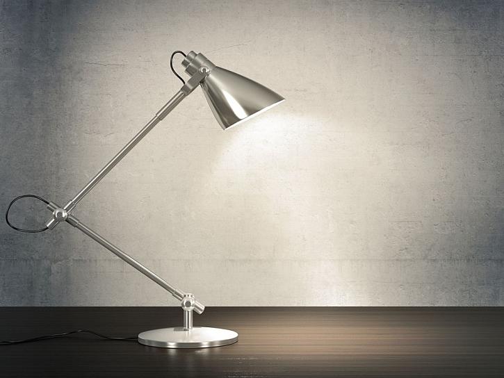 I  osvětlení pracovního koutu nemá smysl podceňovat