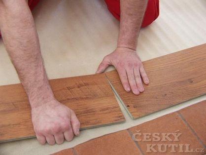 Podložky pro podlahy pokládané plovoucím způsobem