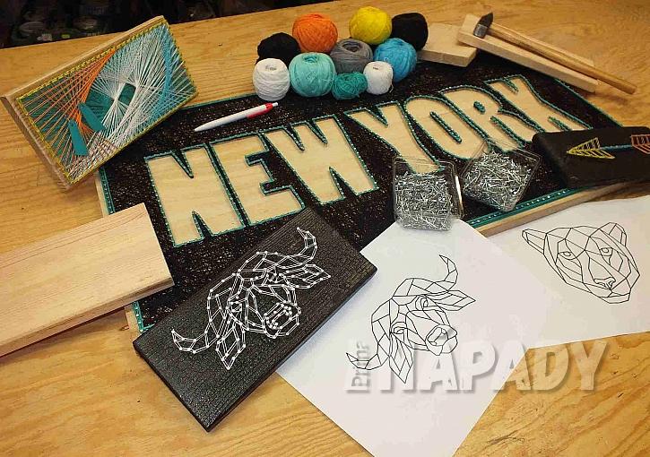 """Z bavlnek či provázků lze vytvořit zajímavé dekorace (Zdroj: Pavel """"Kutil"""" Zeman)"""