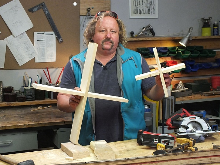 dřevěné kříže