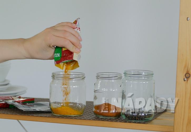 Jak si levně a snadno uspořádat zásoby v kuchyni 2