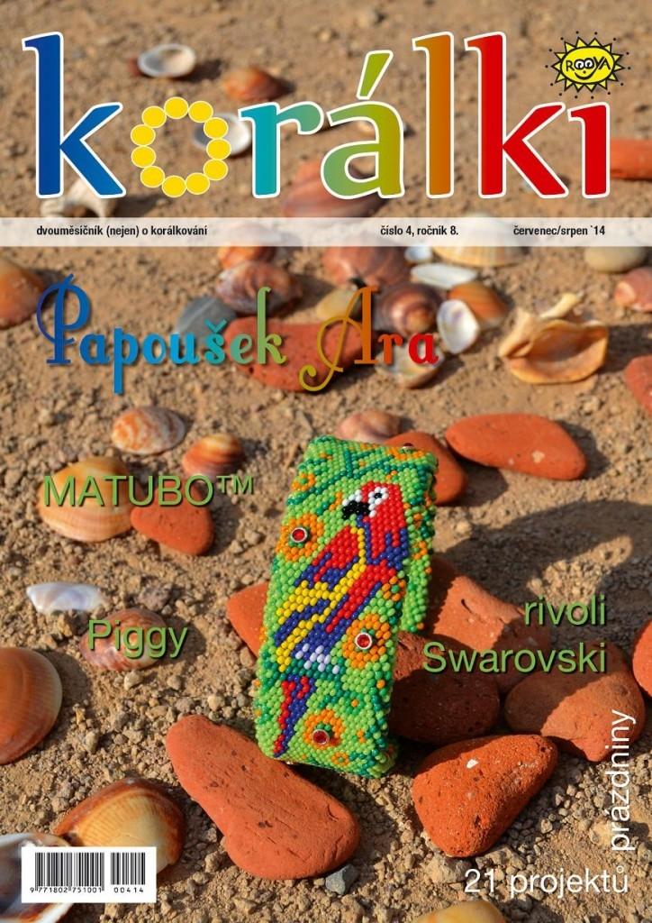 Korálki 4/2014 – Prázdninové číslo: Papoušek Ara
