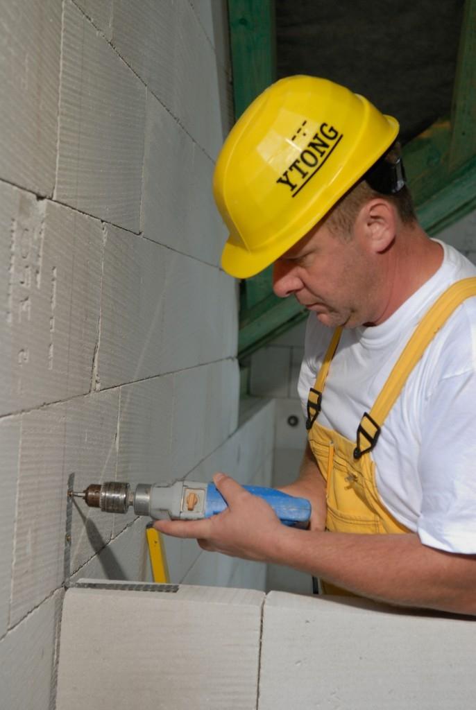 Krok č. 4: Napojení příčky na stěnu