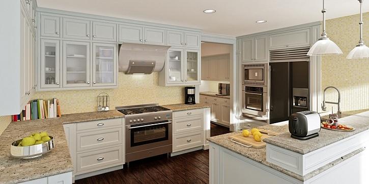 Umělý kámen v kuchyni