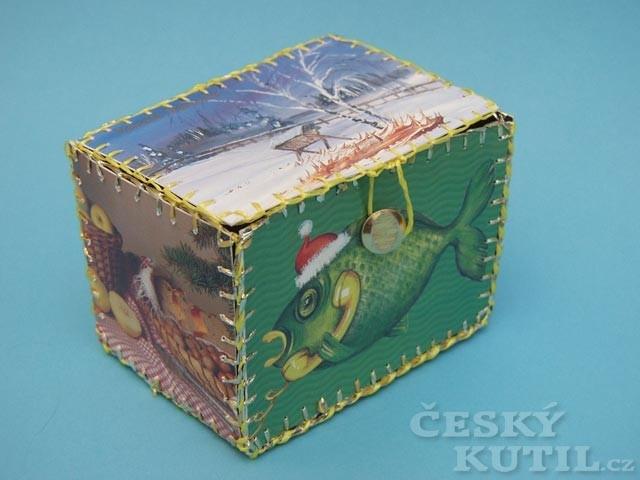 Krabička z pohledů