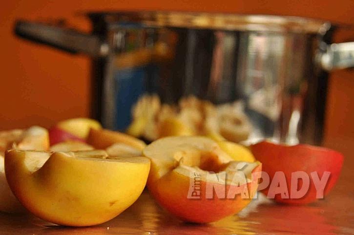 Nakrájená jablka