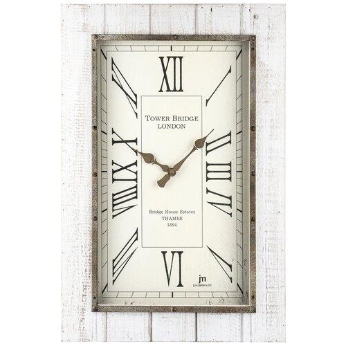 Lowell 21477 Designové nástěnné hodiny 60 x 40 cm